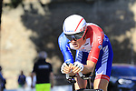 Ramon Sinkeldam (NED) Groupama-FDJ in action during Stage 1 of the 2019 Giro d'Italia, an individual time trial running 8km from Bologna to the Sanctuary of San Luca, Bologna, Italy. 11th May 2019.<br /> Picture: Eoin Clarke | Cyclefile<br /> <br /> All photos usage must carry mandatory copyright credit (© Cyclefile | Eoin Clarke)