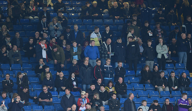 Bolton Wanderers fans enjoy the pre-match atmosphere <br /> <br /> Photographer Chris Vaughan/CameraSport<br /> <br /> The EFL Sky Bet Championship - Sheffield Wednesday v Bolton Wanderers - Saturday 10th March 2018 - Hillsborough - Sheffield<br /> <br /> World Copyright &copy; 2018 CameraSport. All rights reserved. 43 Linden Ave. Countesthorpe. Leicester. England. LE8 5PG - Tel: +44 (0) 116 277 4147 - admin@camerasport.com - www.camerasport.com