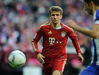 Fussball Bundesliga Saison 2011/2012 9. Spieltag FC Bayern Muenchen - Hertha BSC Berlin Thomas MUELLER (FCB).