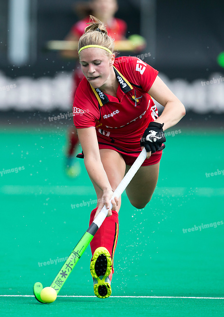 27/06/2015<br /> HWL Semi Final Antwerp Belgium 2015<br /> New Zealand v Belgium Women<br /> Alix Gerniers<br /> Photo: Grant Treeby