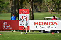 PATTAYA, THAILAND - FEBRUARY 22: Mi Hyang Lee of South Korea on the 15th tee during the second round of the Honda LPGA Thailand 2019 at Siam Country Club Pattaya (Old Course), Pattaya, Thailand on February 22, 2019.<br /> .<br /> .<br /> .<br /> (Photo by: Naratip Golf Srisupab/SEALs Sports Images)<br /> .<br /> Any image use must include a mandatory credit line adjacent to the content which should read: Naratip Golf Srisupab/SEALs Sports Images