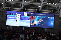 OLYMPIC GAMES: PYEONGCHANG: 19-02-2018, Gangneung Oval, Long Track, Final results 500m Men, ©photo Martin de Jong