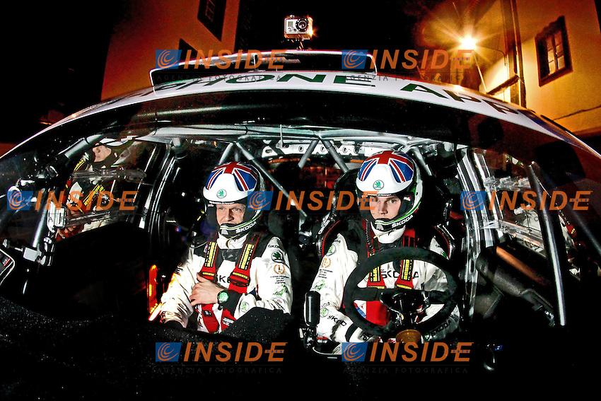 MIKKELSEN Andreas - Ola Floene - SKODA Fabia S2000 .Rally delle Azzorre 23/2/2012.Foto Insidefoto / Andre Lavadinho / S Presse / Panoramic.ITALY ONLY
