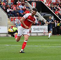 ROTHERHAM VS SOUTHEND 4-0<br /> KIEFFER MOORE CELEBRATES SCORING THE MILLERS 4TH OF THE AFTERNOON