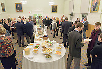 Berkeley Divinity School at Yale University. Reception following A Service of Evensong Together with the Conferral of Honorary Degrees. 20 October 2015