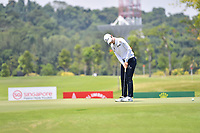 SINGAPORE - MARCH 03: Sung Hyun Park of South Korea on the 16th green during the final round of the HSBC Women's World Championship 2019 at Sentosa Golf Club - Tanjong Course, Singapore on March 03, 2019.<br /> .<br /> .<br /> .<br /> (Photo by: Naratip Golf Srisupab/SEALs Sports Images)<br /> .<br /> Any image use must include a mandatory credit line adjacent to the content which should read: Naratip Golf Srisupab/SEALs Sports Images