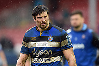 Paul Grant of Bath Rugby looks on after the match. Anglo-Welsh Cup Final, between Bath Rugby and Exeter Chiefs on March 30, 2018 at Kingsholm Stadium in Gloucester, England. Photo by: Patrick Khachfe / Onside Images