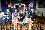 n riday evening in the Meadowlands Hotel,Tralee Staff and board of Management retired from Gaelscoil Mhic Easmain and to mark their retirement Teachers and Boad of management attended a dinner to mark the Occassion.