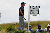 June 14th 2017, Erin, Wisconsin, USA; Jordan Spieth tees off on the 12th hole during the practice round for the 117th US Open on June 14, 2017 at Erin Hills in Erin, Wisconsin
