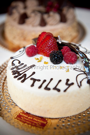 Chantilly cake at Pasticceria and Bar, 'Roma già Talmone', Turin, Italy