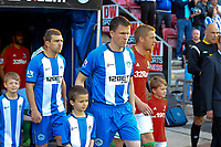 Tuesday, 7 May 2013<br /> <br /> Pictured: Players emerge from the tunel<br /> <br /> Re: Barclays Premier League Wigan Athletic v Swansea City FC  at the DW Stadium, Wigan