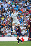 Real Madrid's Kleper Lima Ferreira Pepe and Eibar's Ruben Pena during the match of La Liga between Real Madrid and SD Eibar at Santiago Bernabeu Stadium in Madrid. October 02, 2016. (ALTERPHOTOS/Rodrigo Jimenez)