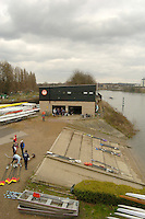 Chiswick, London. ENGLAND,11.03.2006, Tieway Scullers Club boat house. Women's Head of the River Race Mortlake to Putney  on Saturday 11th March    © Peter Spurrier/Intersport-images.com.. 2006 Women's Head of the River Race. Rowing Course: River Thames, Championship course, Putney to Mortlake 4.25 Miles Tideway Scullers School, Boathouse. TTS Boat House