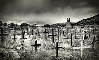 Taos cemetery - Pueblo uprising of 1680 - Taos Pueblo, New Mexico