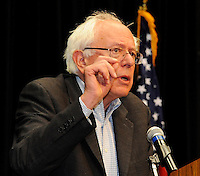 Vermont Senator, Bernie Sanders, addresses Fighting Bob Fest on Saturday, September 17, 2011 at the Alliant Energy Center in Madison, Wisconsin