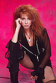 Precious Metal - vocalist Leslie Knauer - photosession in Los Angeles USA - 1990.  Photo credit: Anamaria DiSanto/IconicPix