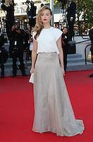 Amber Heard attends 'Deux Jours, Une Nuit' 1ere - 67th Cannes Film Festival - France