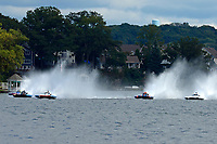 "Donny Allen, E-14 ""Legacy 1"", H-999 ""Can You See Me Now"", H-8 ""Last Minute Again"", Marc Lecompte, H-104, Bobby King, H-242    (H350 Hydro) (5 Litre class hydroplane(s)"