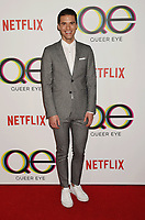 WEST HOLLYWOOD, CA - FEBRUARY 07: Raymond Braun attends the premiere of Netflix's 'Queer Eye' Season 1 at Pacific Design Center on February 7, 2018 in West Hollywood, California.<br /> CAP/ROT/TM<br /> &copy;TM/ROT/Capital Pictures