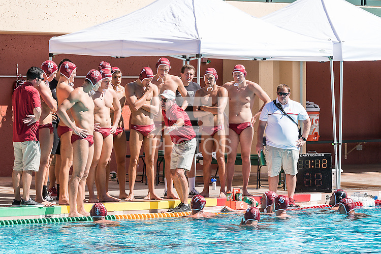 Stanford, CA; Saturday October 8, 2016;  Men's Water Polo vs Long Beach State, Final score Stanford 10, Long Beach State 9