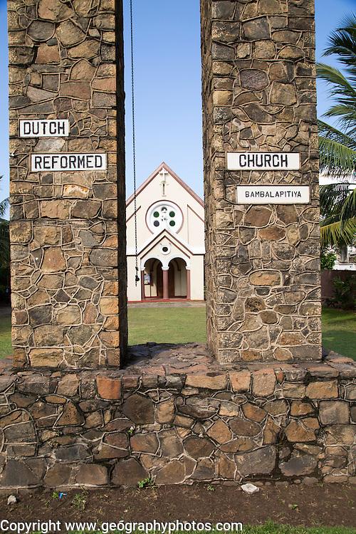 Dutch Reformed Church, Bambalapitiya, Colombo, Sri Lanka