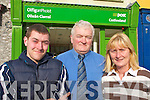 NEW: Stephen Walsh, Joe Walsh and Sandra Conway who will be opening the new Castleisland Post Office in Main Street on Monday 11th February.   Copyright Kerry's Eye 2008