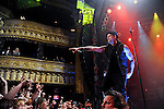Joel Madden of Good Charlotte performs at the House of Blues in Chicago, IL on Tuesday March 15, 2011.