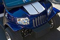 Golf Cart Blue Grille, Custom, Classic, Unique,