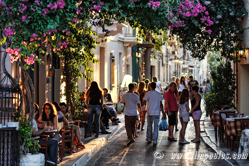how to get from athens airport to plaka