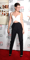 """LOS ANGELES - NOV 3:  Kristen Stewart arrives at the AFI Film Festival 2012  """"On the Road"""" Gala Screening at Los Angeles on November 3, 2012 in Graumans Chinese Theater, CA"""