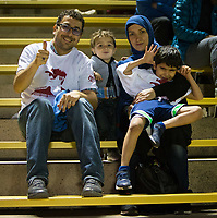 STANFORD, CA - August 24, 2018: Fans at Laird Q. Cagan Stadium. The Stanford Cardinal defeated the USF Dons 5-1.