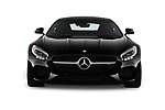 Car photography straight front view of a 2016 Mercedes Benz AMG-GT AMG-GT-S 3 Door Coupe Front View