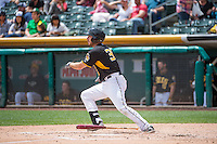 Charlie Cutler (37) of the Salt Lake Bees at bat against the Colorado Springs Sky Sox in Pacific Coast League action at Smith's Ballpark on May 24, 2015 in Salt Lake City, Utah.  (Stephen Smith/Four Seam Images)