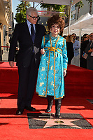 Antonio Verde &amp; Gina Lollobrigida at the Hollywood Walk of Fame Star Ceremony honoring actress Gina Lollobrigida, Los Angeles, USA 01 Feb. 2018<br /> Picture: Paul Smith/Featureflash/SilverHub 0208 004 5359 sales@silverhubmedia.com