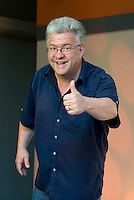 Ian McMillan, British poet, journalist, playwright and broadcaster,