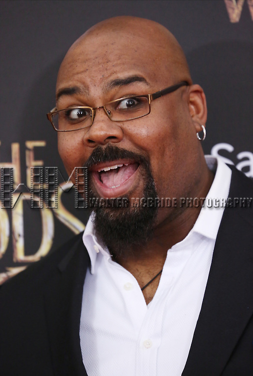 James Monroe Iglehart attends the 'Into The Woods' World Premiere at Ziegfeld Theater on December 8, 2014 in New York City.