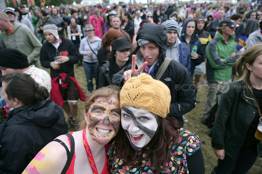 5/9/10 Claire Mason and Tanya Kirk, Belfast at Electric Picnic in Stradbally, Co Laois. Picture:Arthur Carron/Collins
