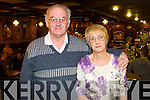 Paul and Josie Kilbride, pictured at the Danny Man bar, Killarney to ring in the New Year on Tuesday night.