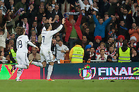 Real Madrid first goal of the match