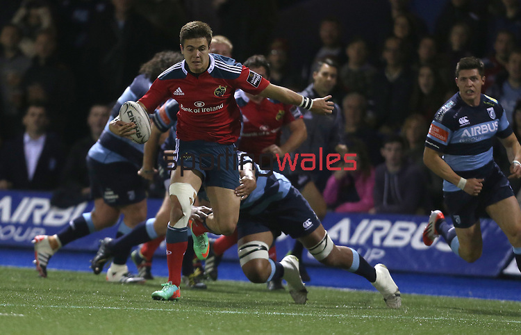 Guiness Pro12<br /> Cardiff Blues v Munster<br /> Cardiff Arms Park<br /> 01.11.14<br /> ©Steve Pope-SPORTINGWALES
