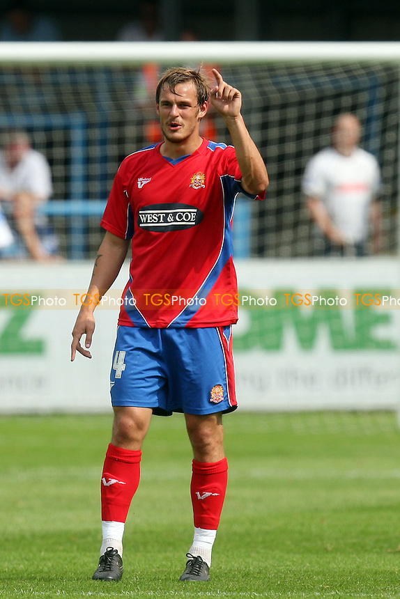 Luke Wilkinson of Dagenham -  Dover Athletic vs Dagenham - 28/07/12 - MANDATORY CREDIT: Dave Simpson/TGSPHOTO - Self billing applies where appropriate - 0845 094 6026 - contact@tgsphoto.co.uk - NO UNPAID USE