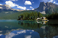 Canada,British Columbia, Yoho National Park. Emerald Lake