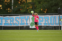 Piscataway, NJ - Saturday Aug. 27, 2016: Caroline Stanley during a regular season National Women's Soccer League (NWSL) match between Sky Blue FC and the Chicago Red Stars at Yurcak Field.