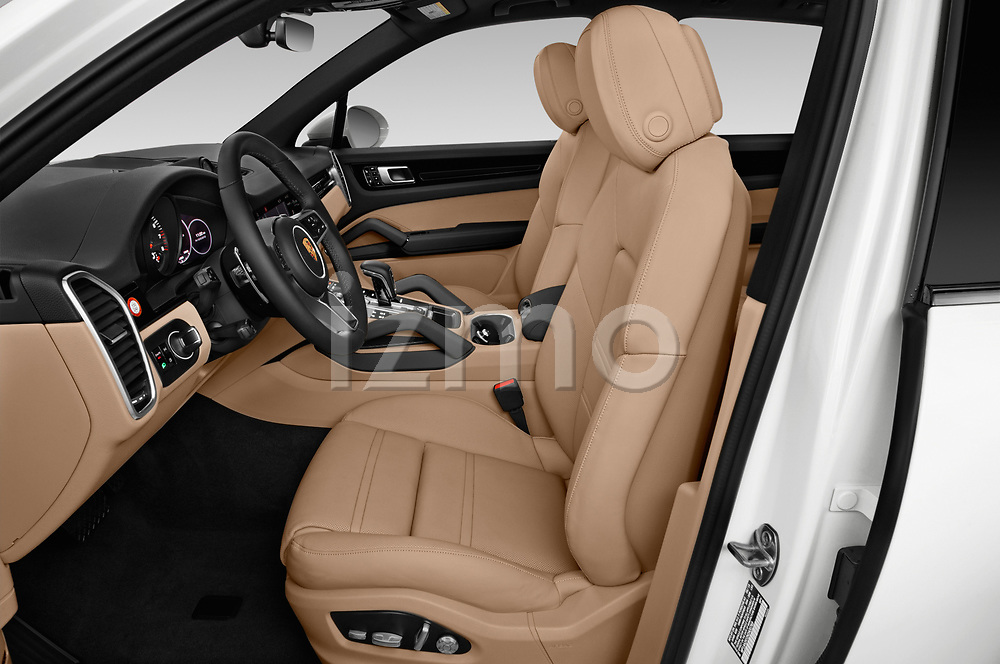 Front seat view of a 2019 Porsche Cayenne Base 5 Door SUV front seat car photos