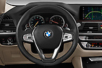 Car pictures of steering wheel view of a 2019 BMW X4 xDrive30i 5 Door SUV