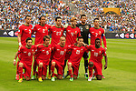 Portugal football team before the World Cup 2014 qualification game against Israel