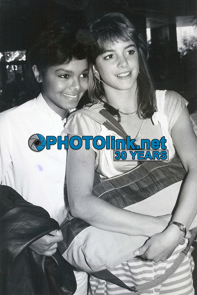 Cindy Gibb & Janet Jackson 1978<br /> Photo By John Barrett-PHOTOlink.net
