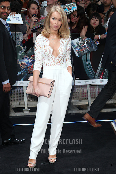 Katie Piper arriving for the Avengers: Age Of Ultron premiere, at Westfield Shepherd's Bush, London. 21/04/2015 Picture by: Alexandra Glen / Featureflash