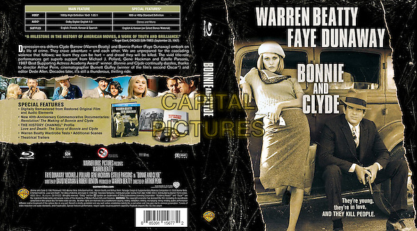 BLU RAY COVER ART<br /> in Bonnie and Clyde (1967) <br /> *Filmstill - Editorial Use Only*<br /> CAP/FB<br /> Image supplied by Capital Pictures