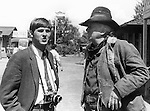 Ron Bennett with Actor Walter Brennan, Walter Brennan American film character actor Academy Award for Best Supporting Actor three times,